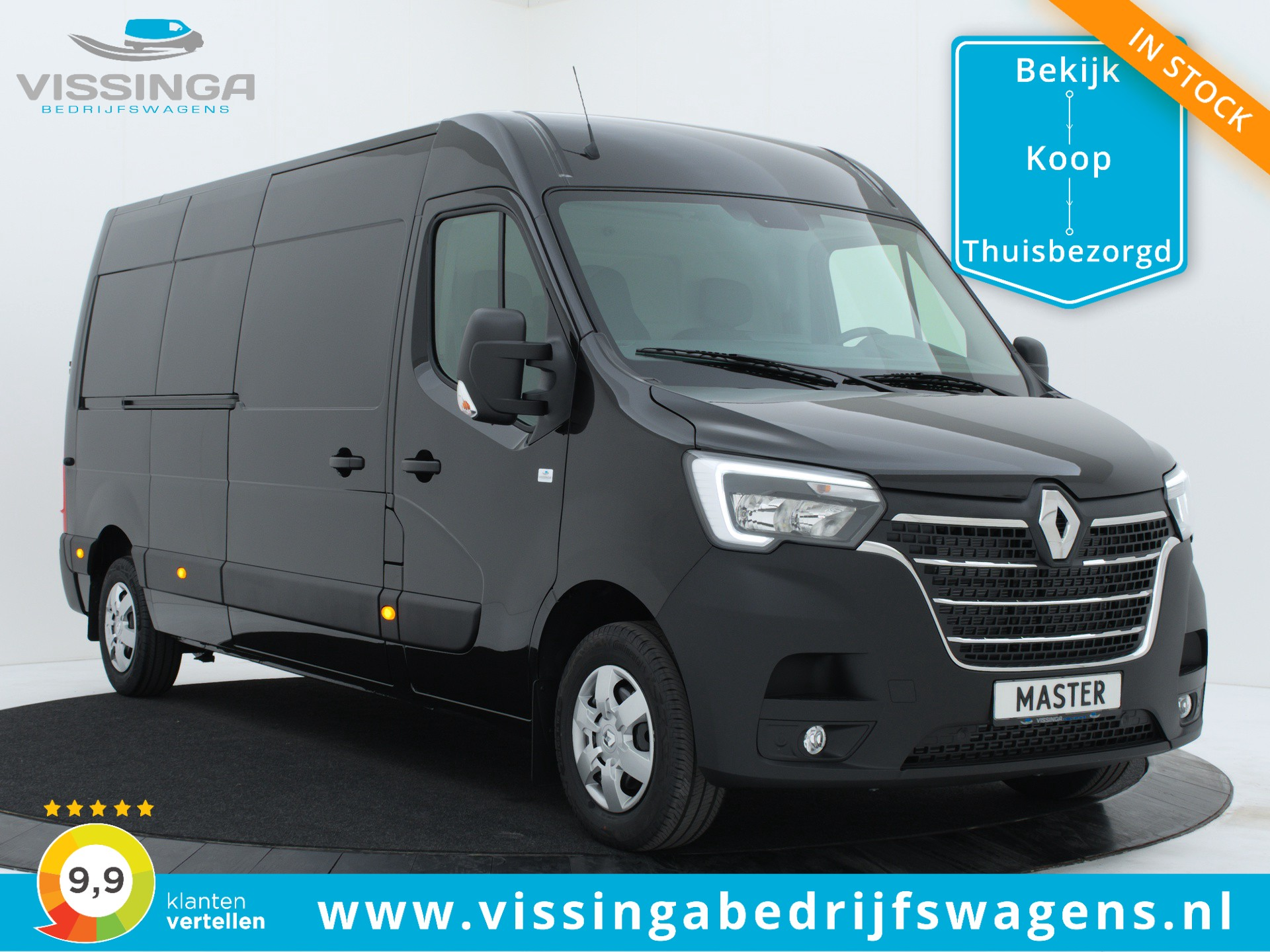Renault Master T35 2.3 dCi L3H2 180 pk Twin-Turbo Light Duty