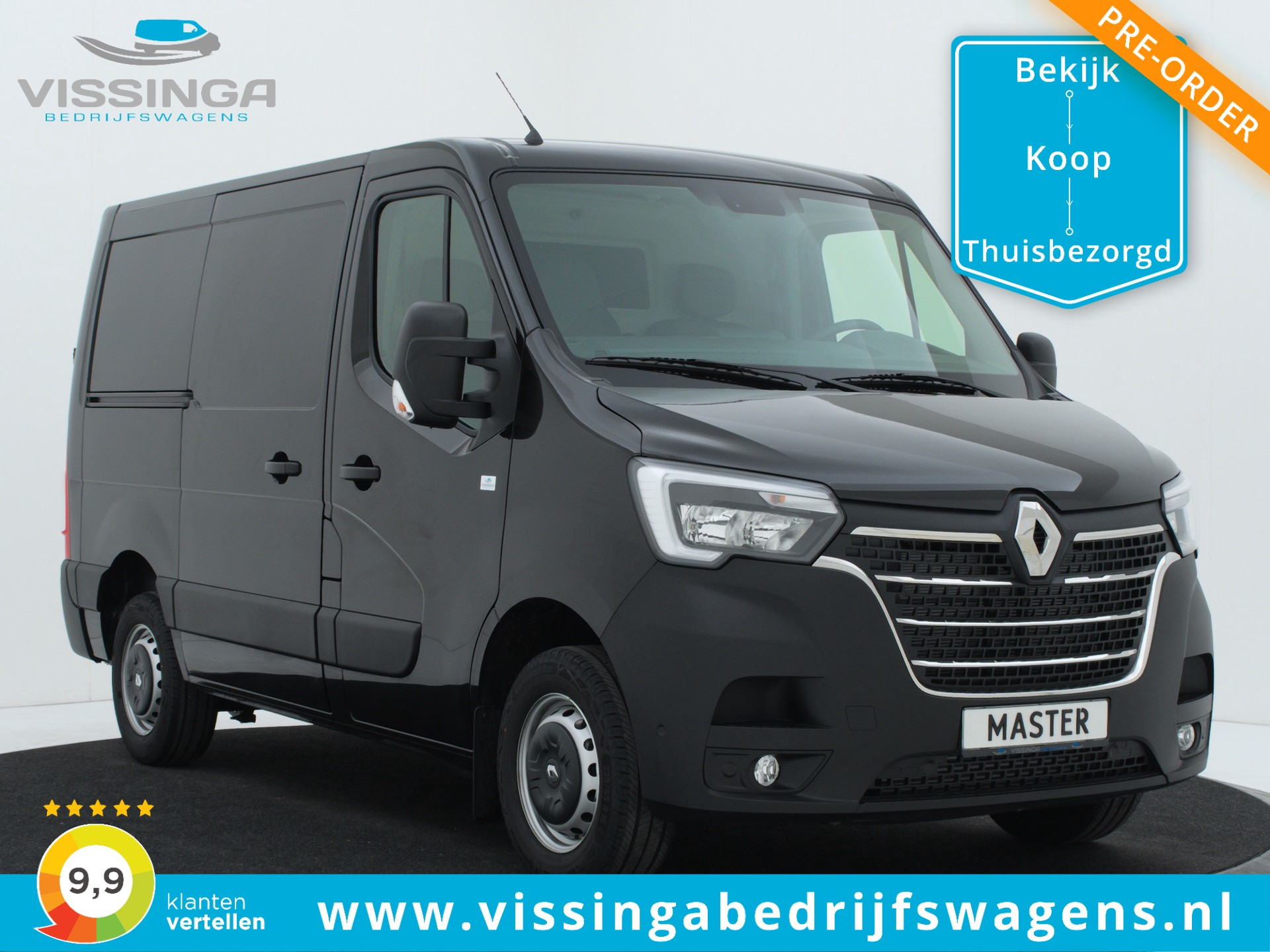 Renault Master T28 2.3 dCi L1H1 135 pk Twin-Turbo Light Duty