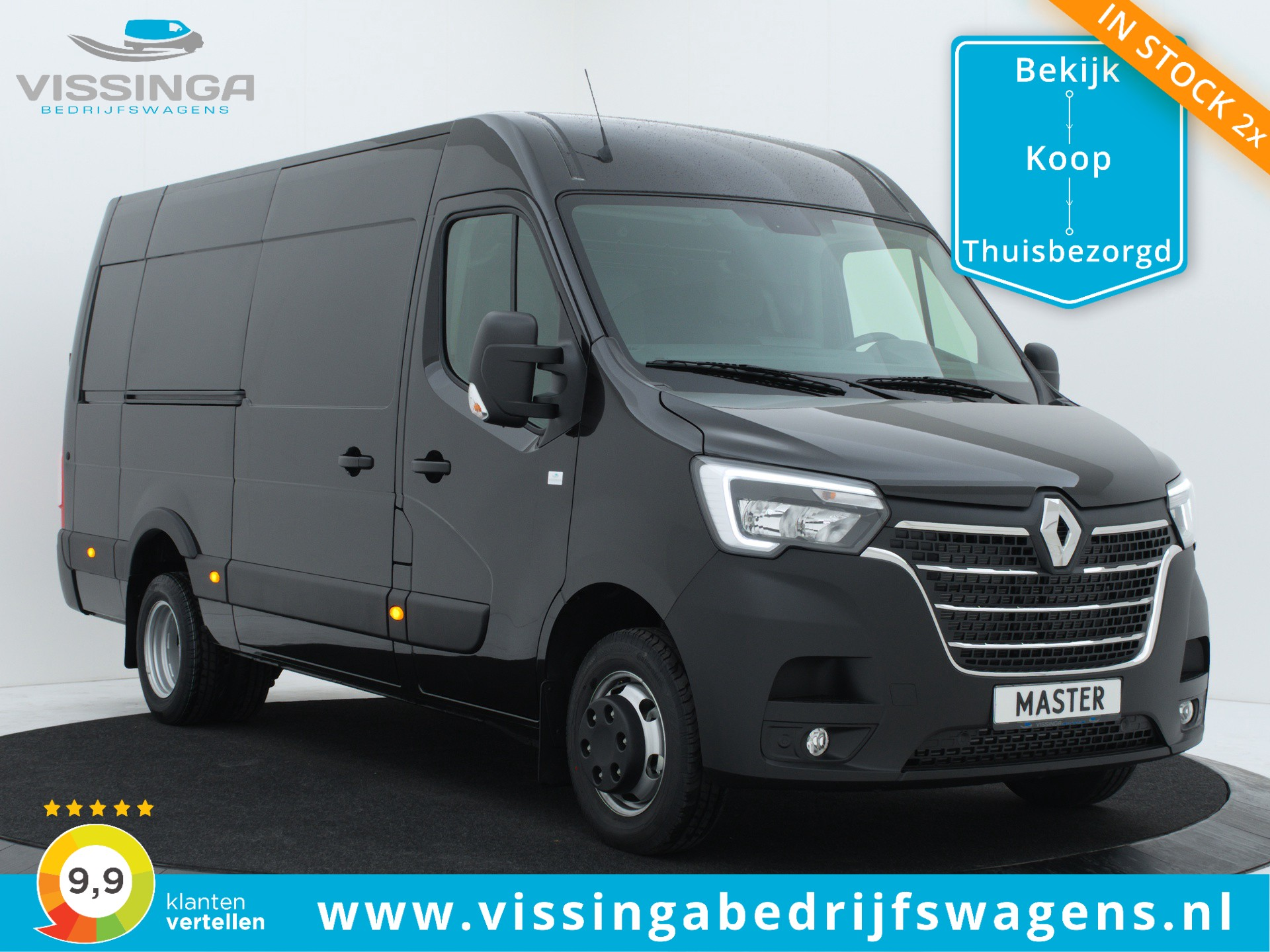 Renault Master T35 2.3 dCi L3H2 165 pk Twin-Turbo Heavy Duty