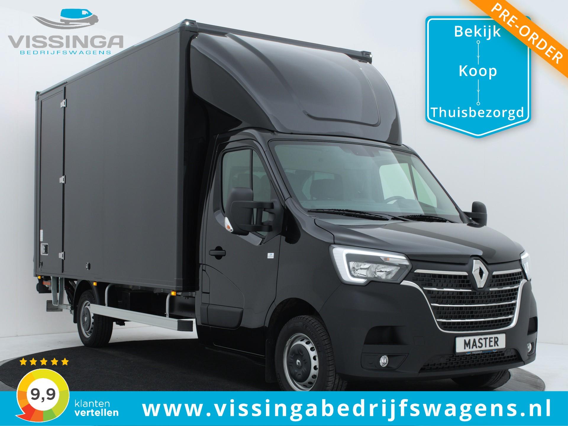 Renault Master FWD 165 pk Bakwagen 420x211x232 (20.5 m3)