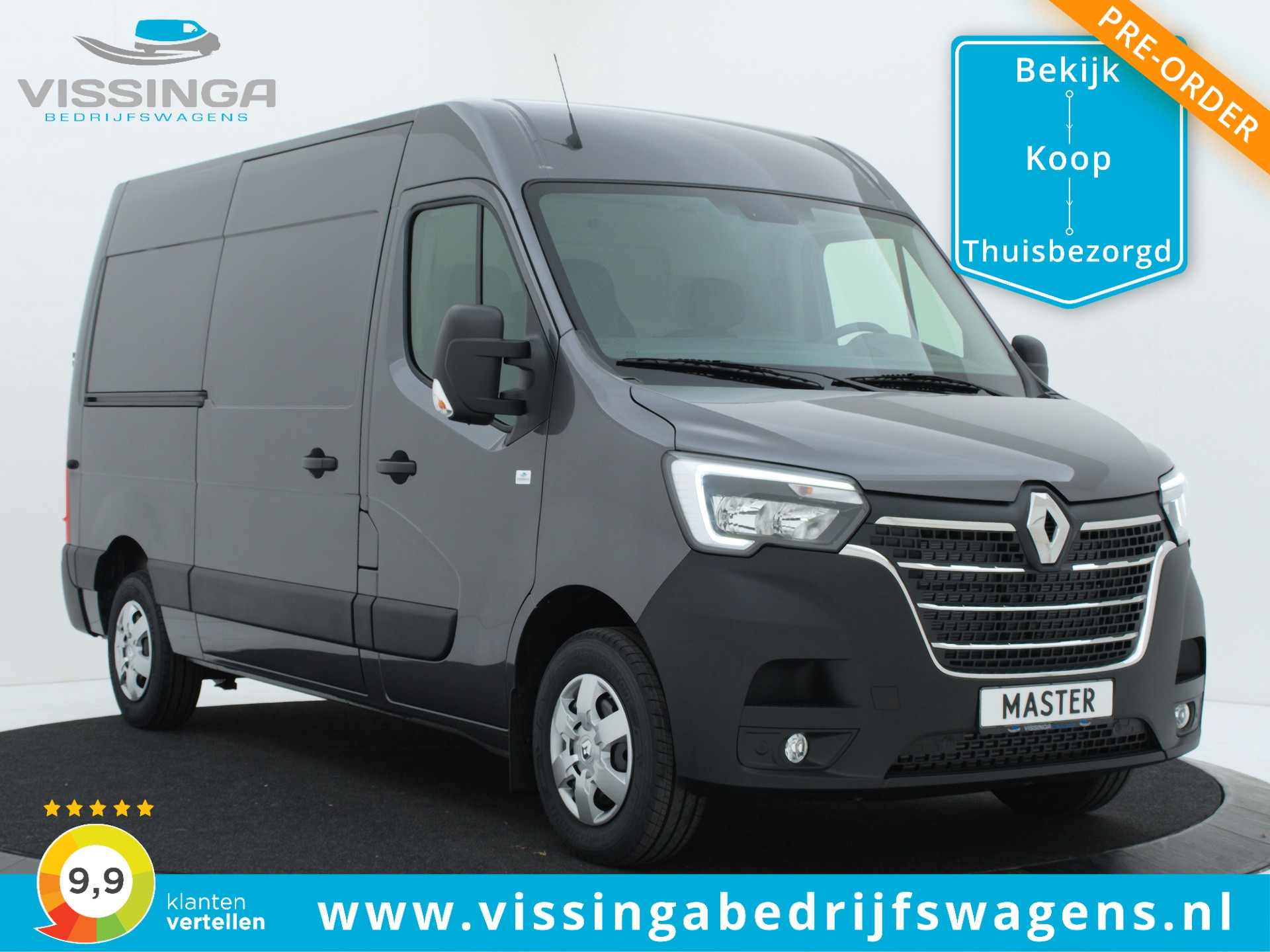 Renault Master T35 2.3 dCi L2H2 150 pk Twin-Turbo Light Duty