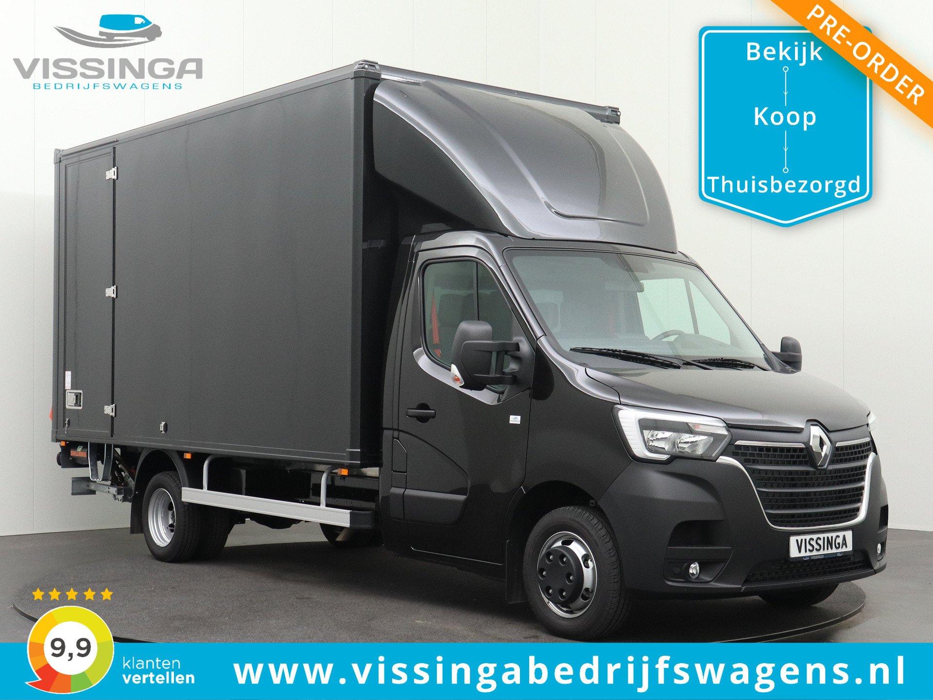 Renault Master RWD 165 pk Bakwagen 440x211x232 (21.5 m3)