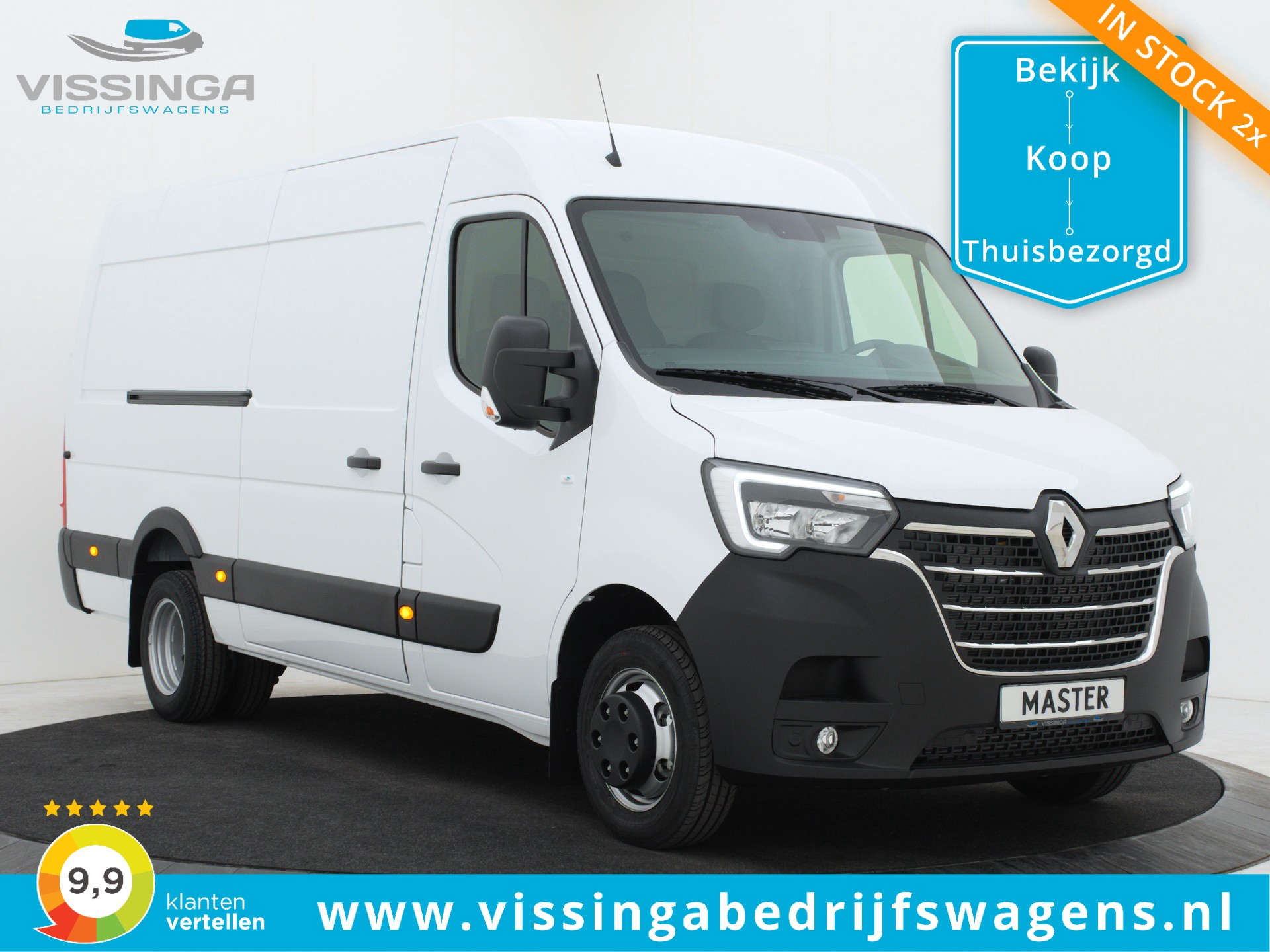 Renault Master T35 2.3 dCi L3H2 145 pk Twin-Turbo Energy