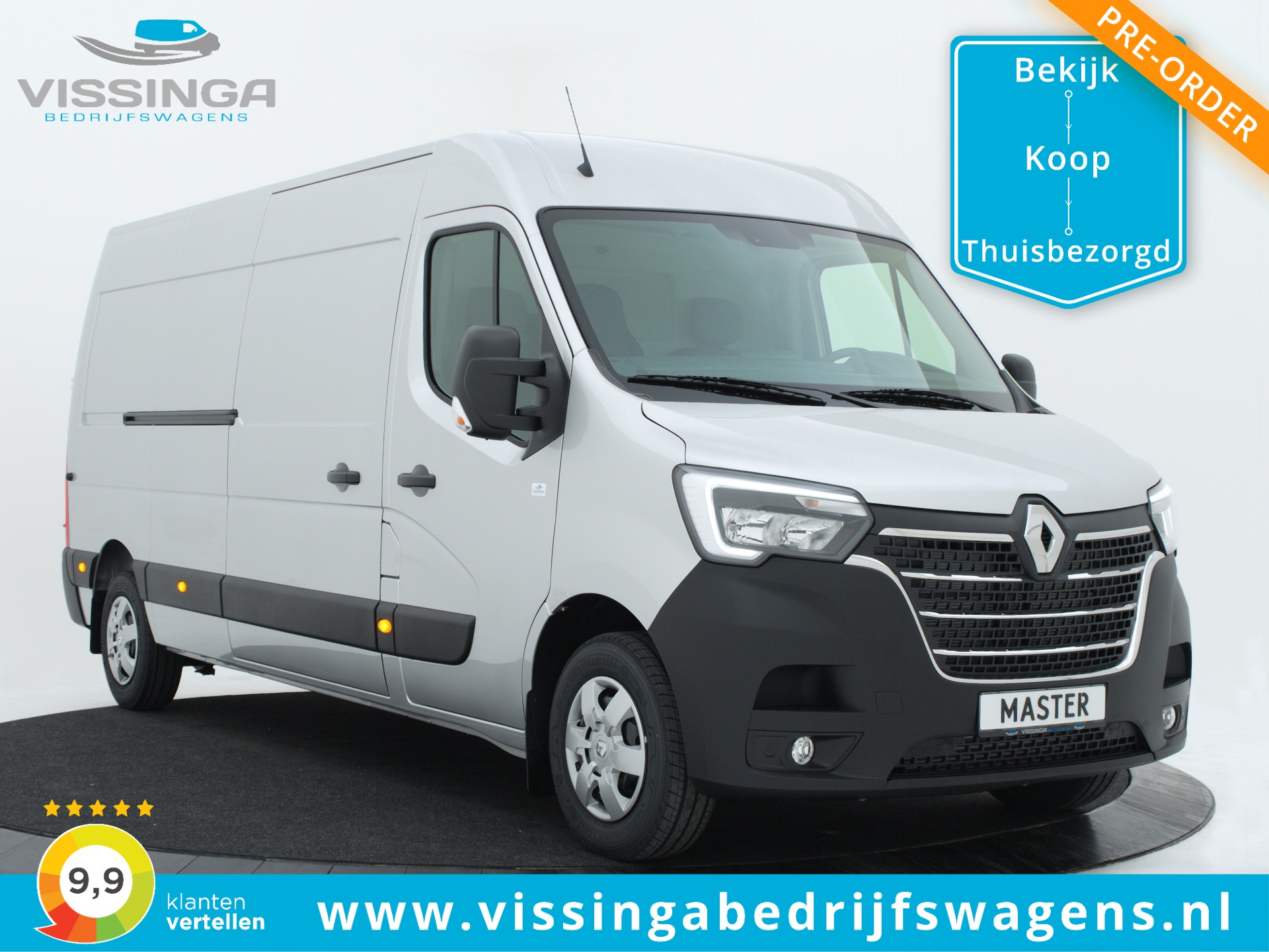 Renault Master T35 2.3 dCi L3H2 180 pk Twin-Turbo Energy