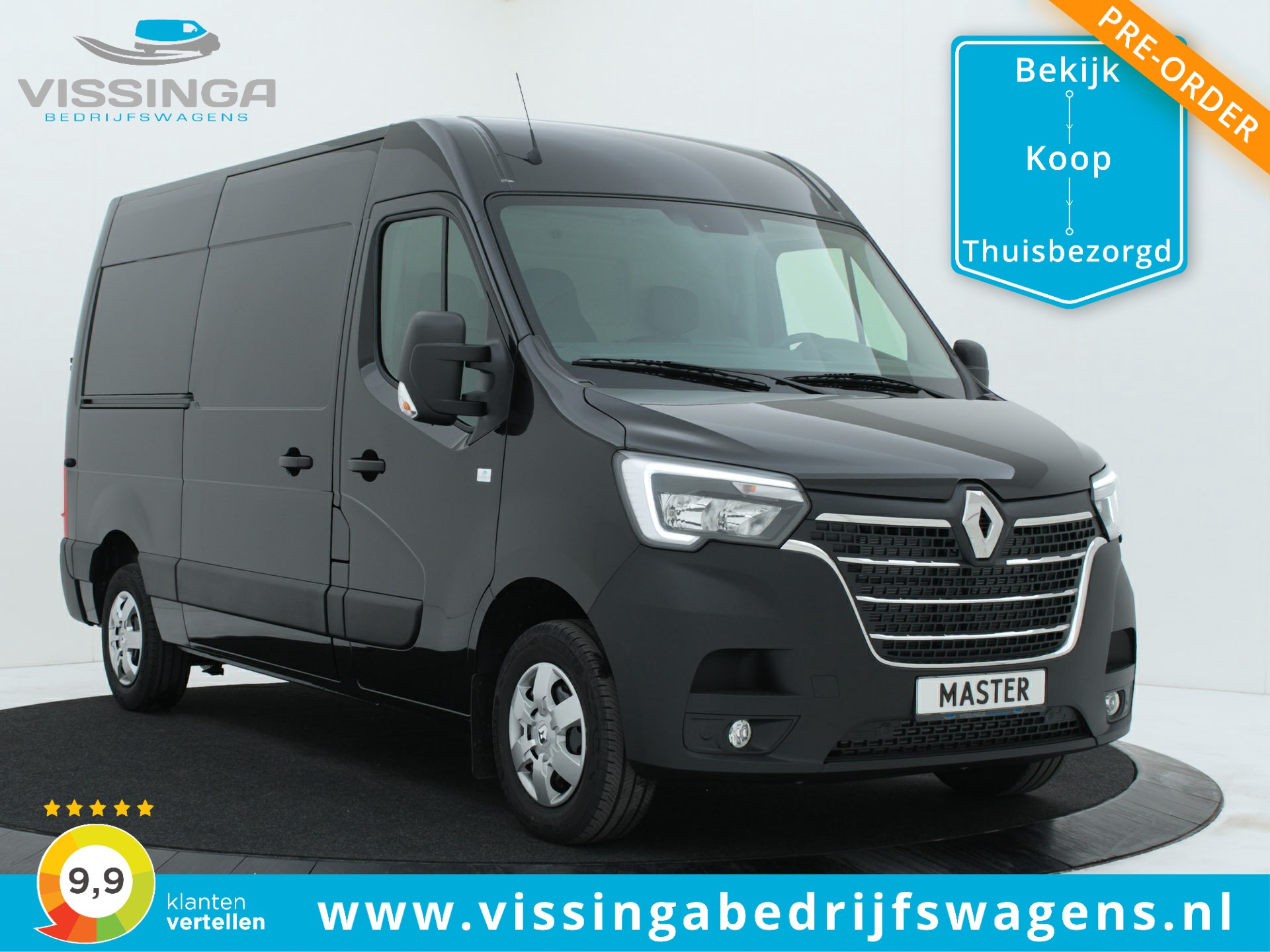Renault Master T35 2.3 dCi L2H2 180 pk Twin-Turbo Energy