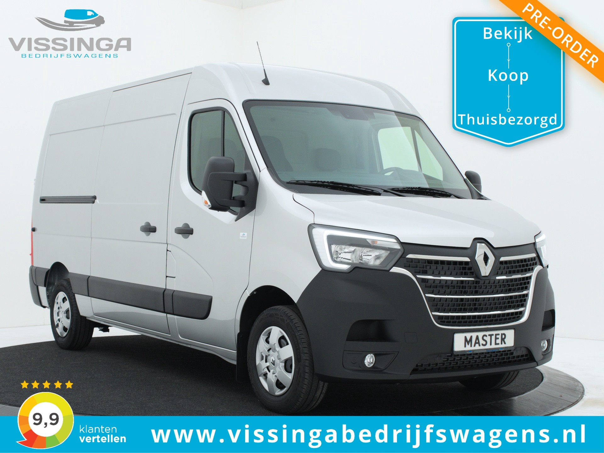 Renault Master T35 2.3 dCi L2H2 180 pk Twin-Turbo Light Duty