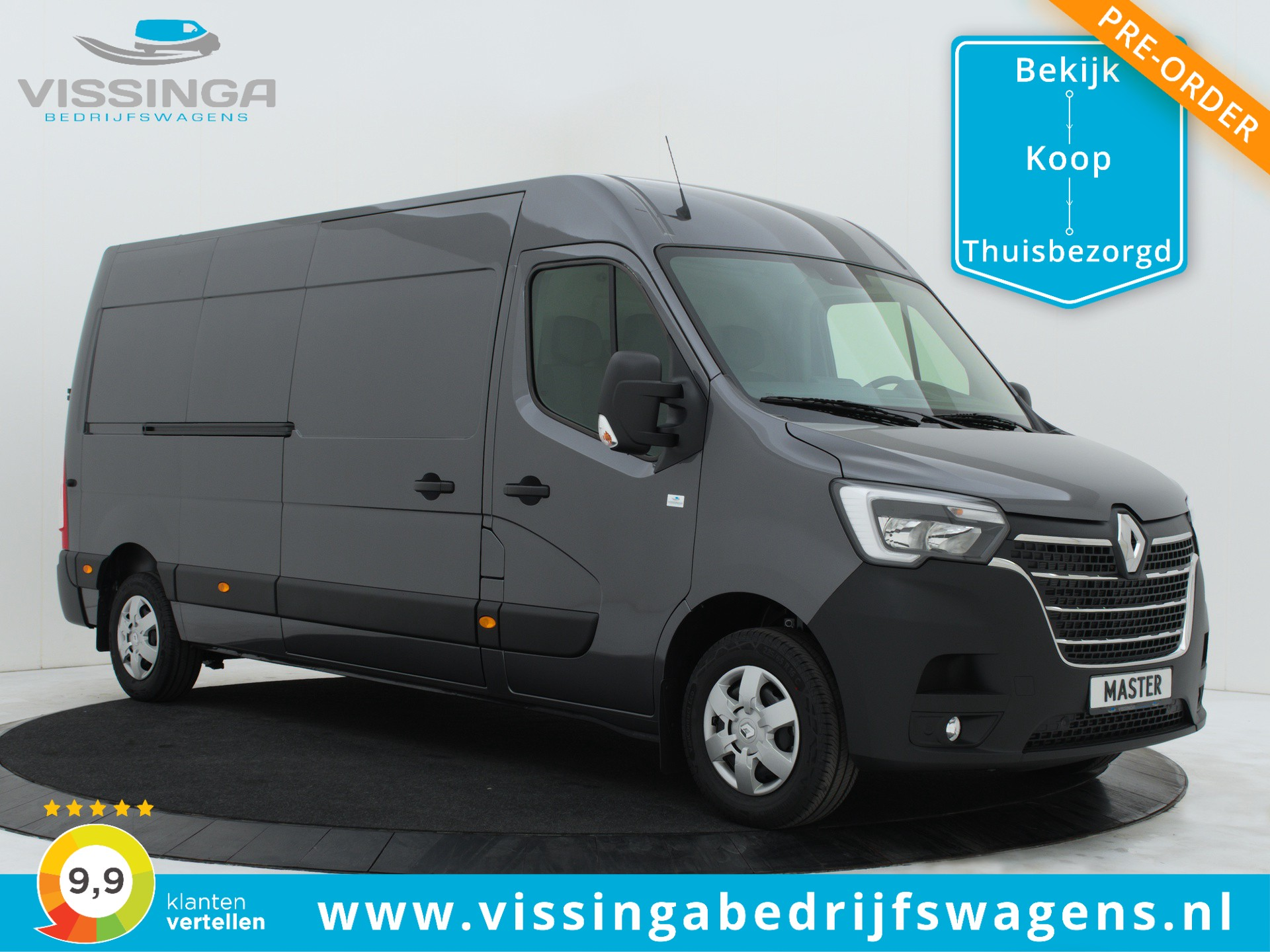 Renault Master T35 2.3 dCi L3H2 150 pk Twin-Turbo Energy