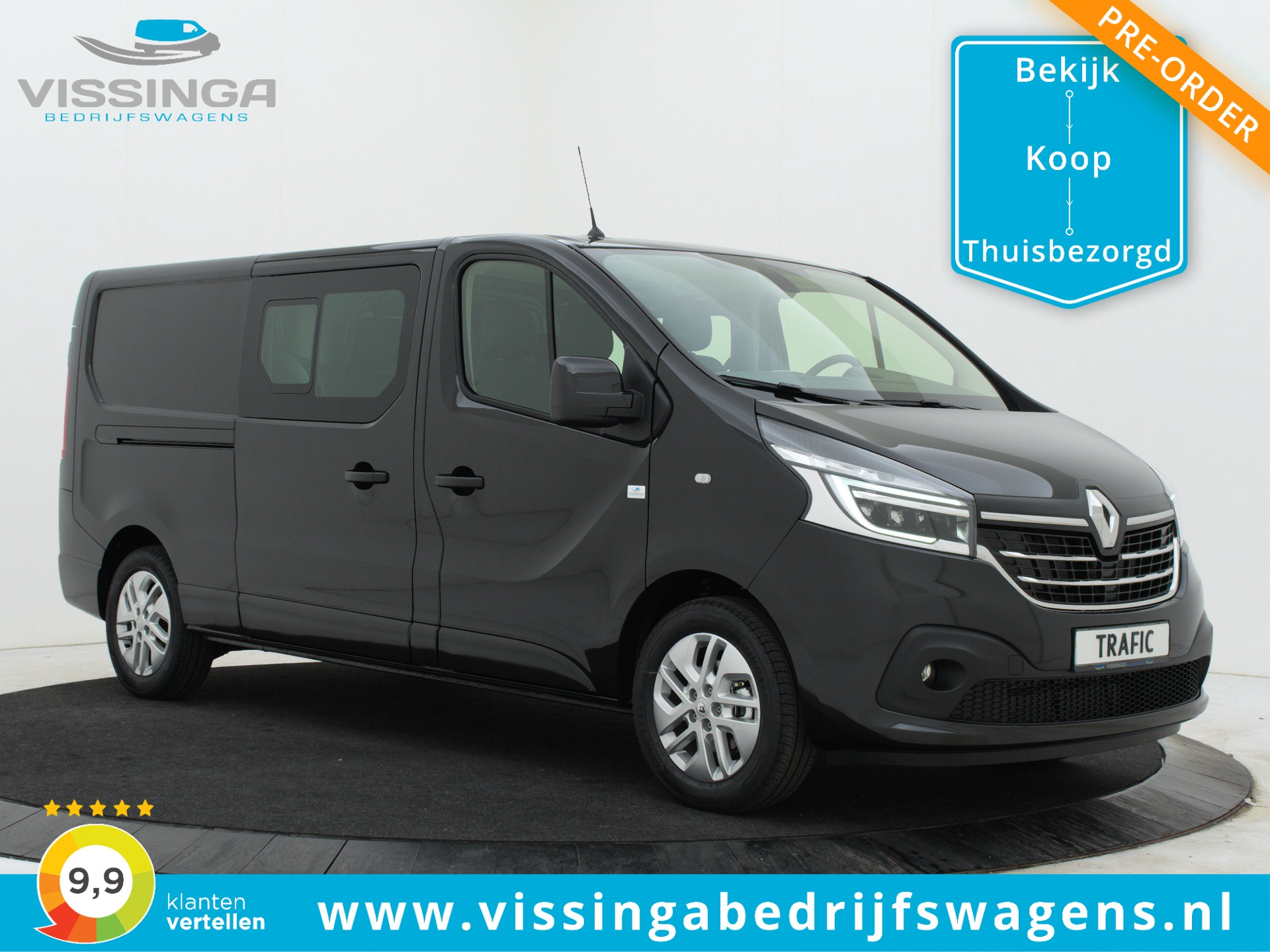 Renault Trafic T29 2.0 dCi 170 pk L2H1 Dubbele Cabine