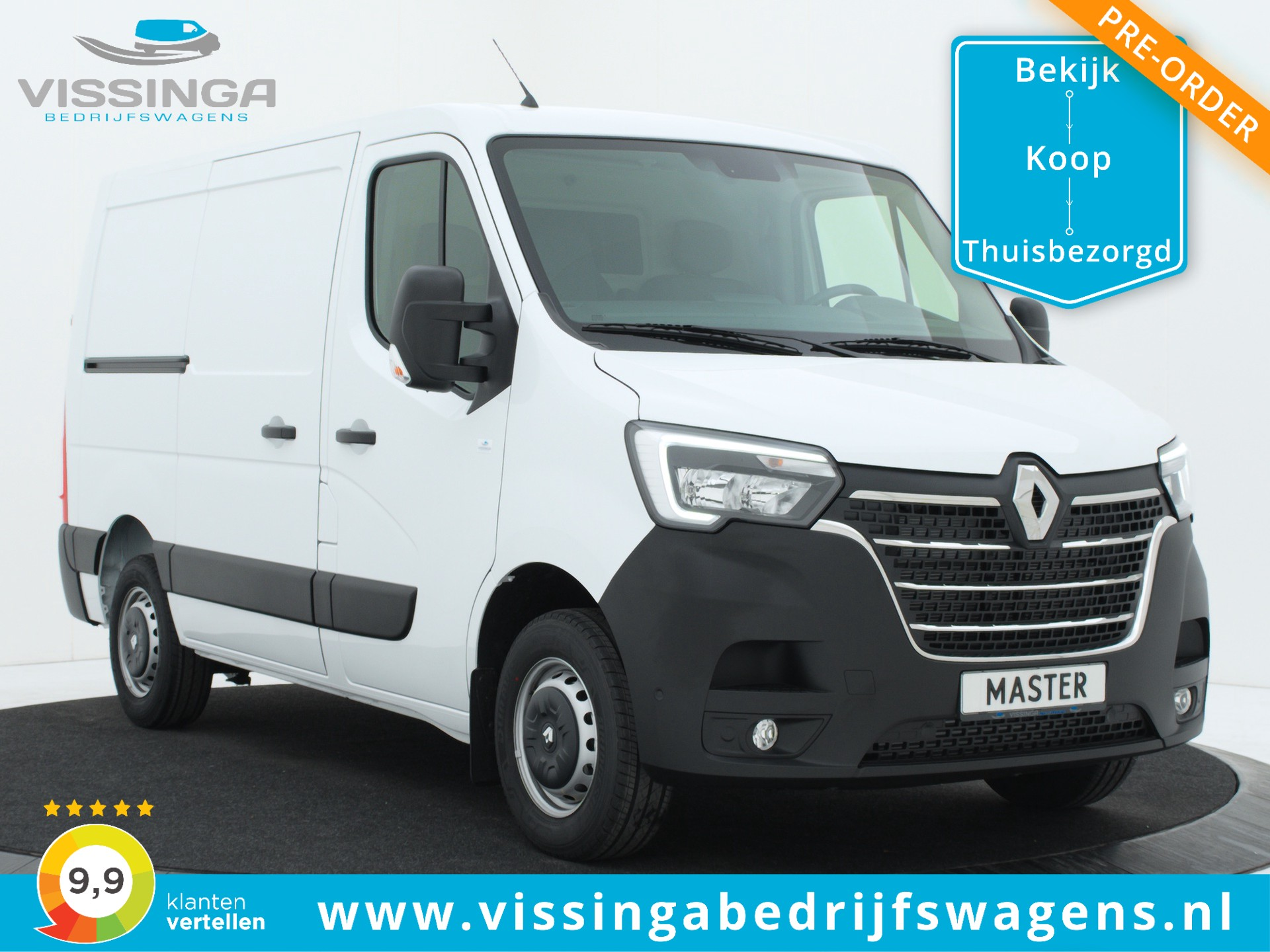 Renault Master T28 2.3 dCi L1H1 135 pk Twin-Turbo