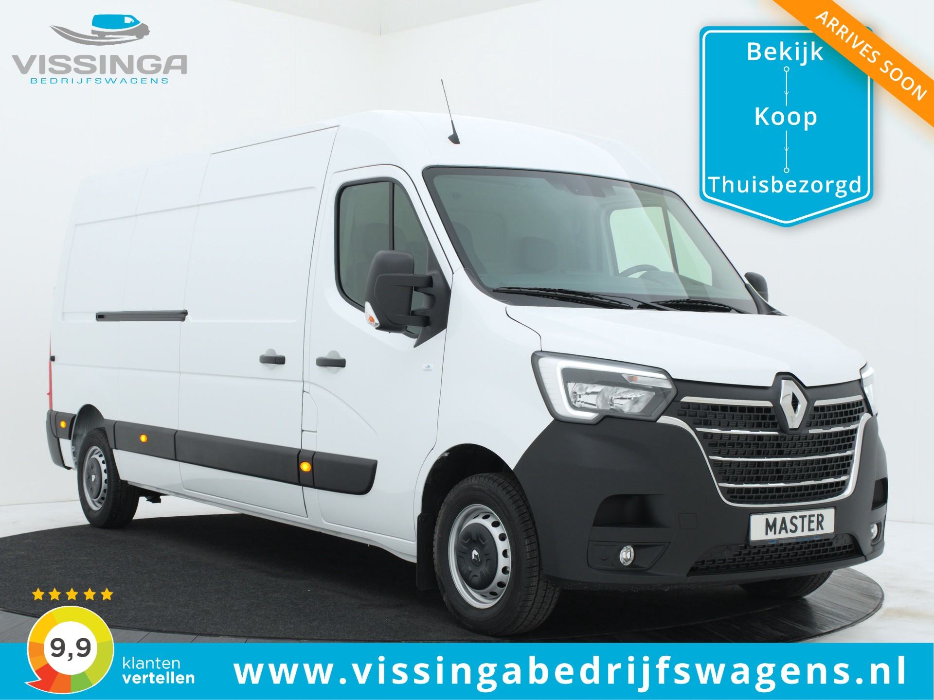 Renault Master T35 2.3 dCi L3H2 135 pk Twin-Turbo