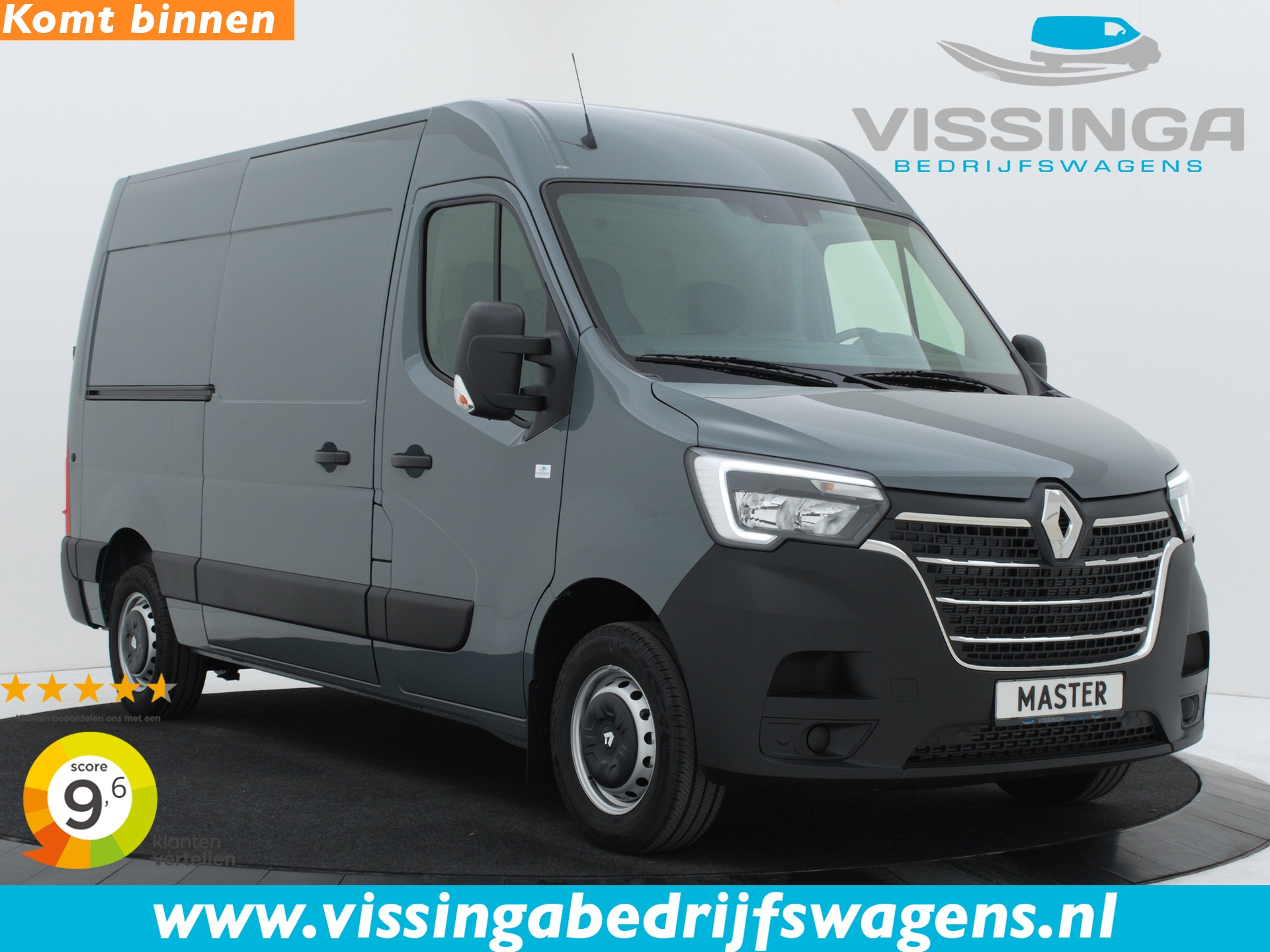 Renault Master T33 2.3 dCi L2H2 150 pk Twin-Turbo Energy