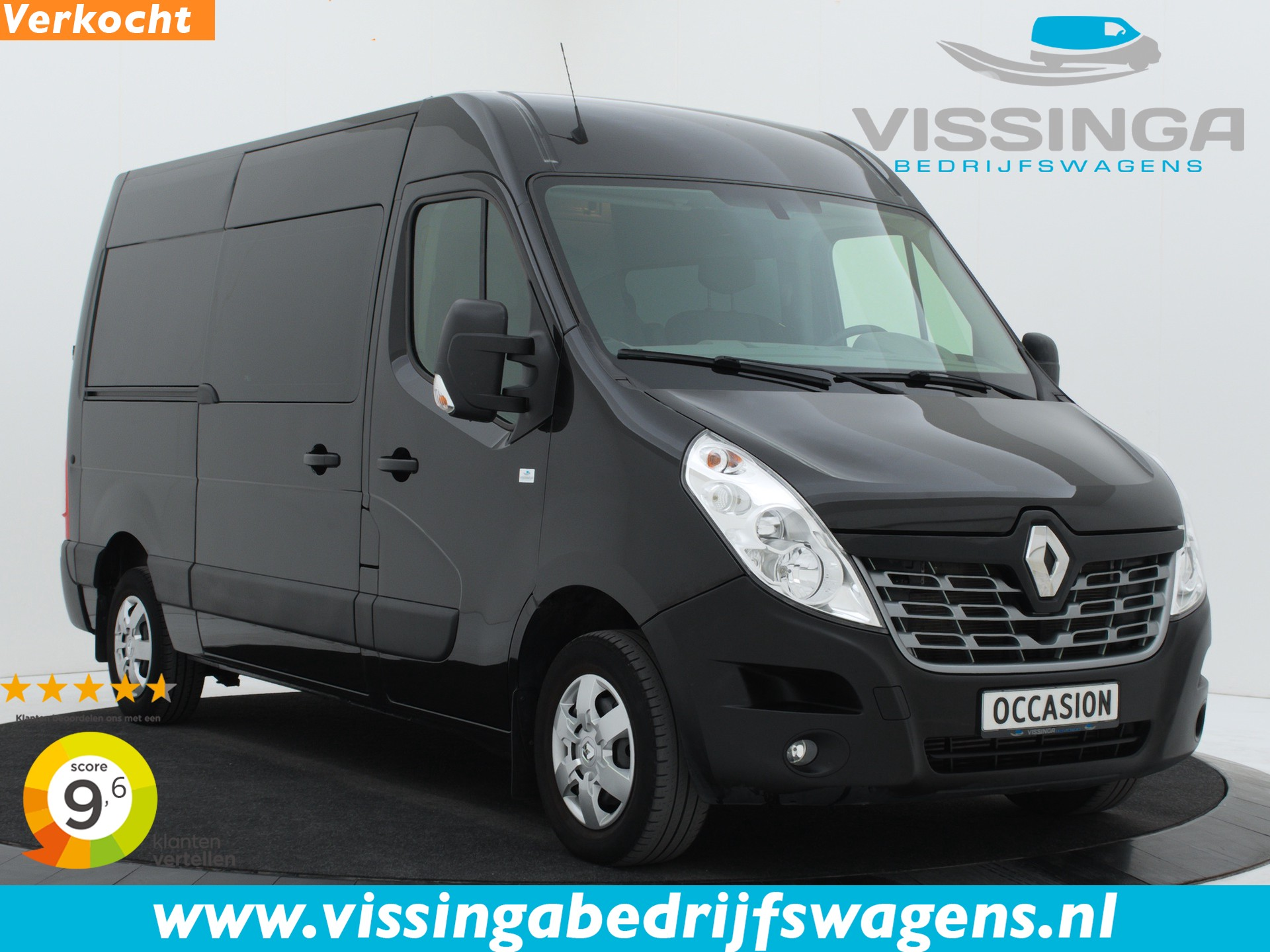 Renault Master T35 2.3 dCi L2H2 Dubbele Cabine 170 pk 69.033 km