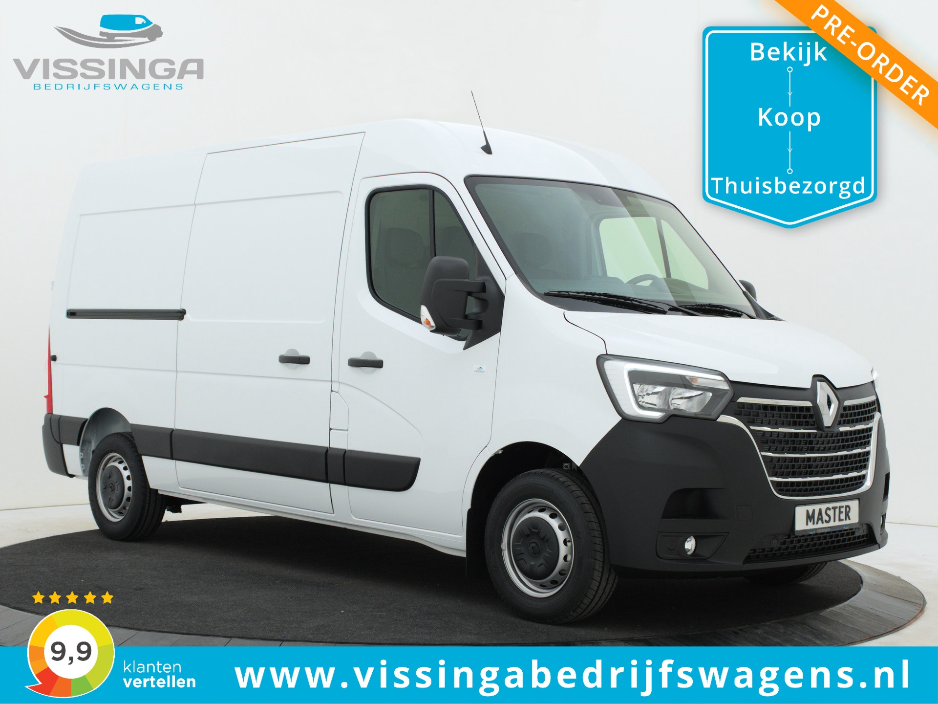 Renault Master T35 2.3 dCi L2H2 135 pk Twin-Turbo