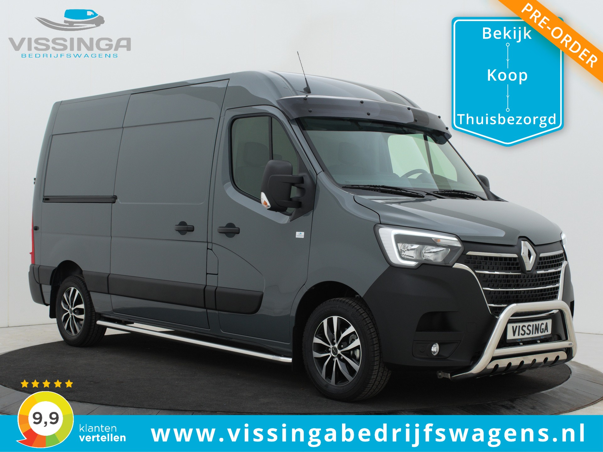 Renault Master T35 2.3 dCi L2H2 180 pk G-Edition Pre-Order Now!