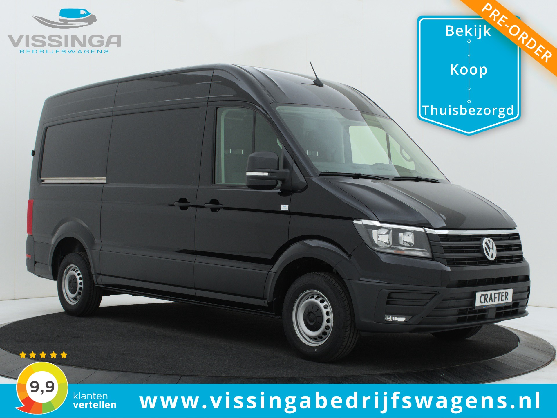 Volkswagen Crafter 35 2.0 TDI L3H3 140 pk