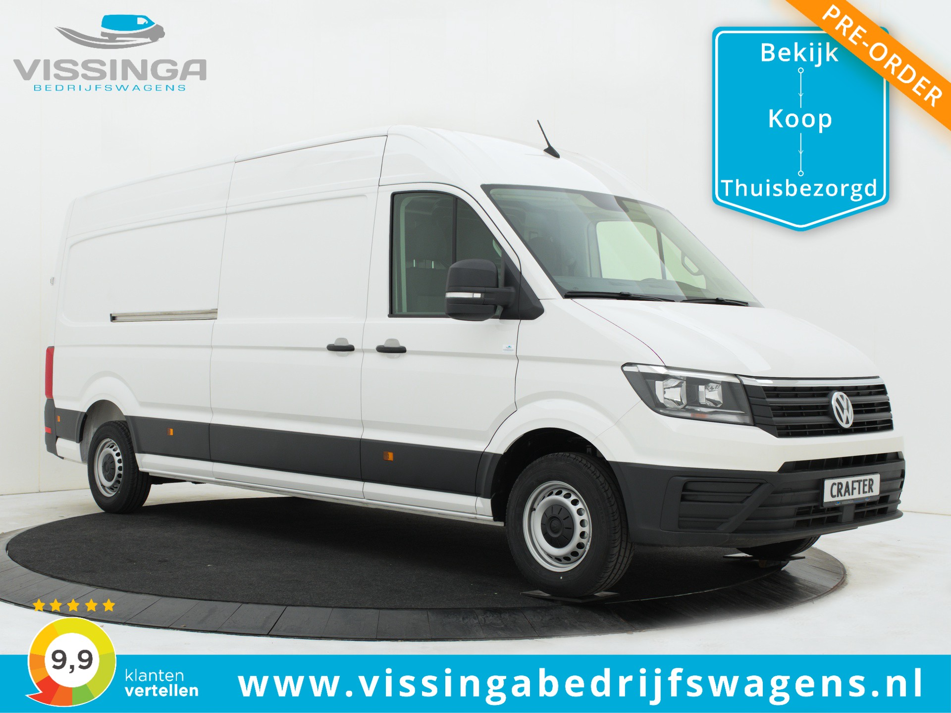 Volkswagen Crafter 35 2.0 TDI L4H3 140 pk