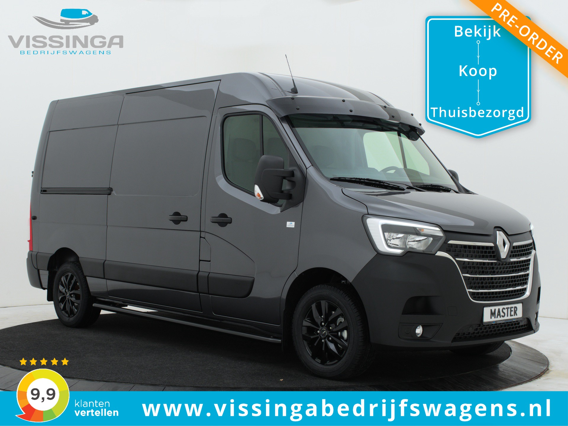 Renault Master T35 2.3 dCi L2H2 180 pk M-Edition Pre-Order Now!