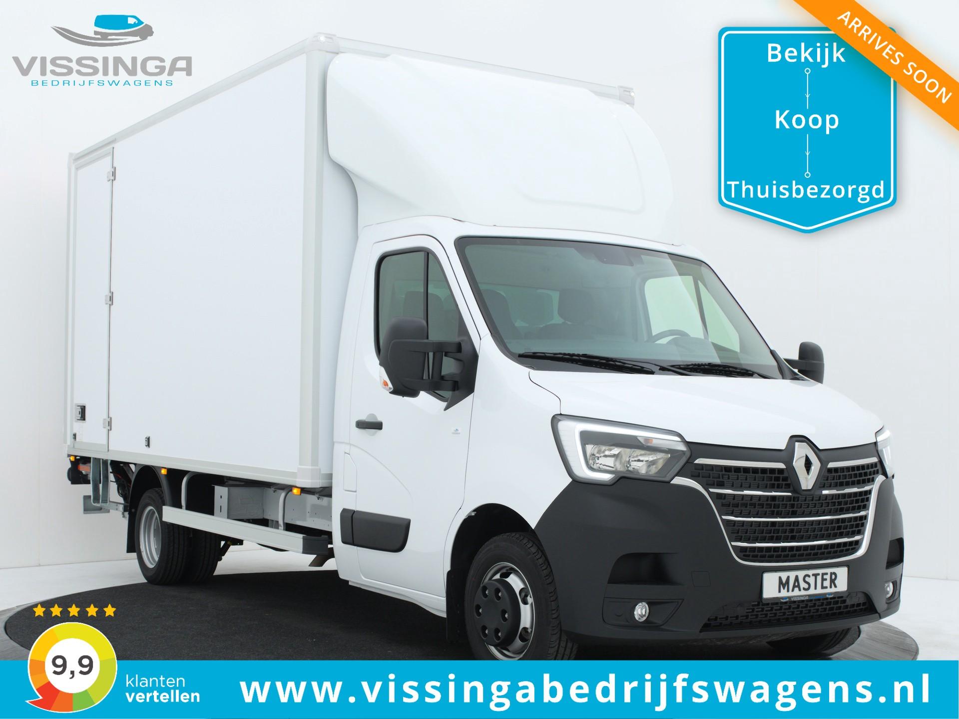 Renault Master RWD 135 pk Bakwagen 440x211x232 (21.5m3)