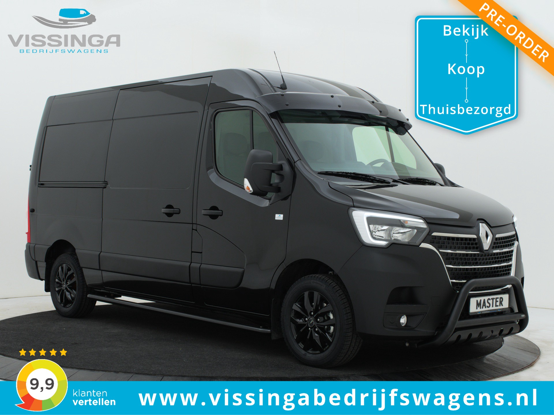 Renault Master T35 2.3 dCi L2H2 180 pk B-Edition Pre-Order Now!