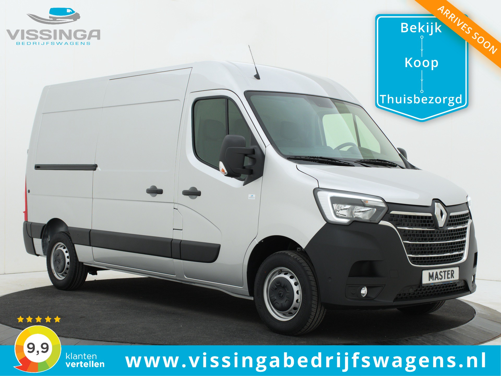 Renault Master T35 2.3 dCi L2H2 135 pk Twin-Turbo Light Duty