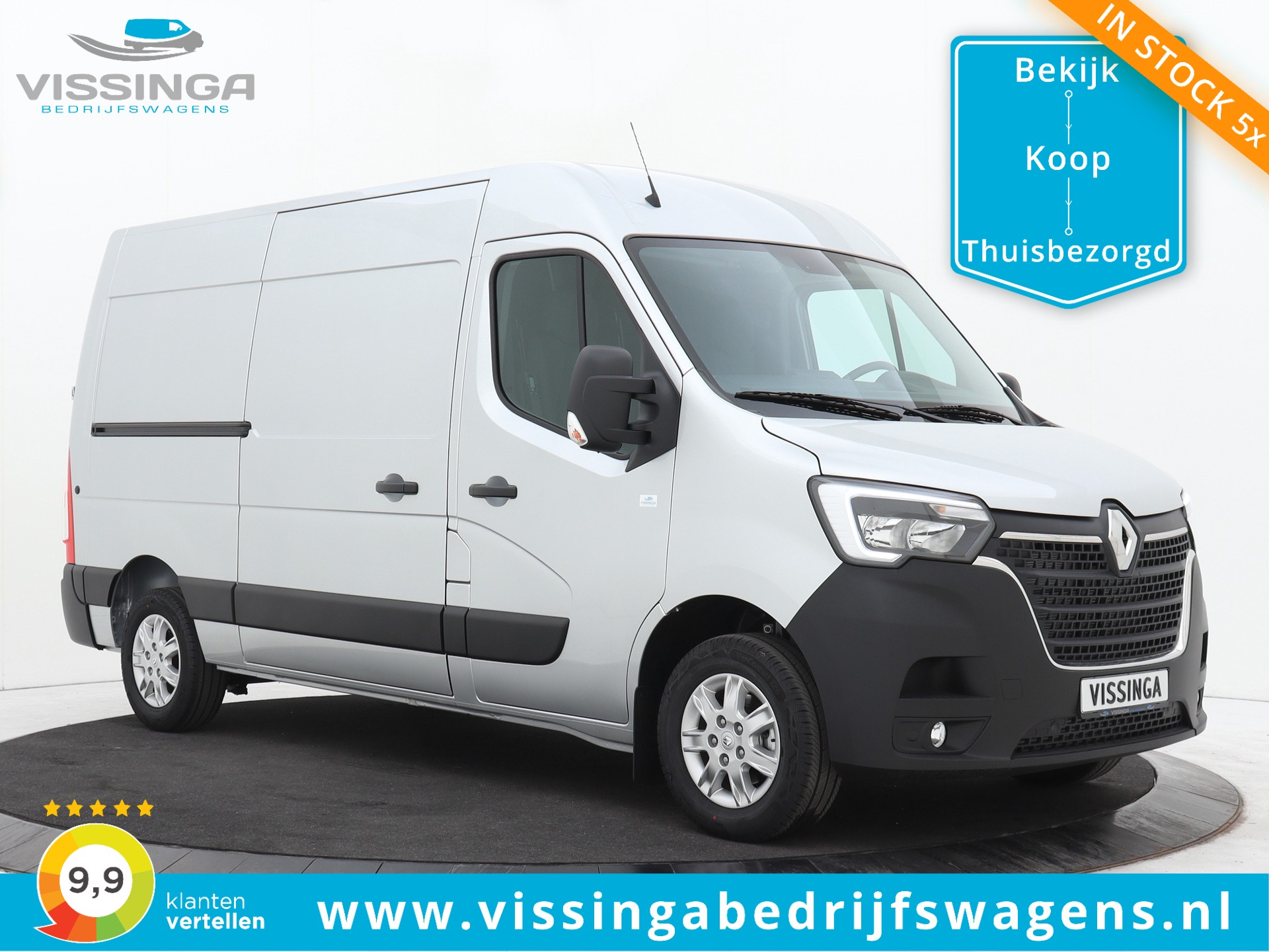 Renault Master T35 2.3 dCi L2H2 150 pk Twin-Turbo Automaat