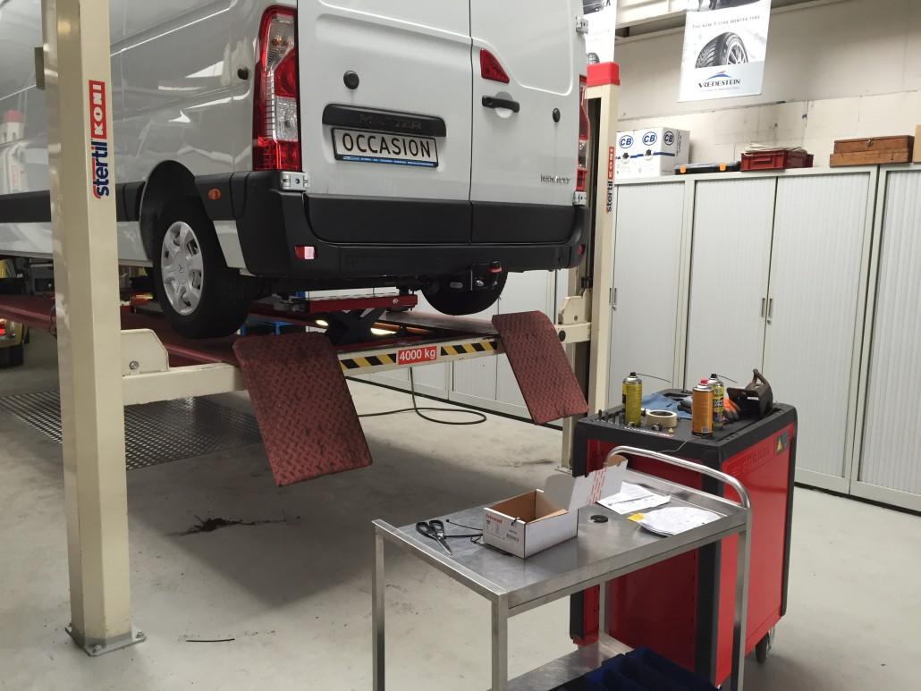 Service en onderhoud bij Vissinga Bedrijfswagens