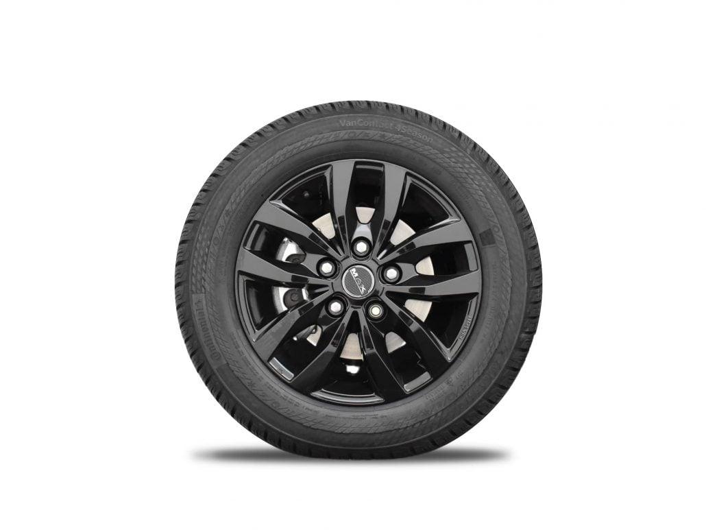 MAK-velgen zwart Volkswagen Crafter