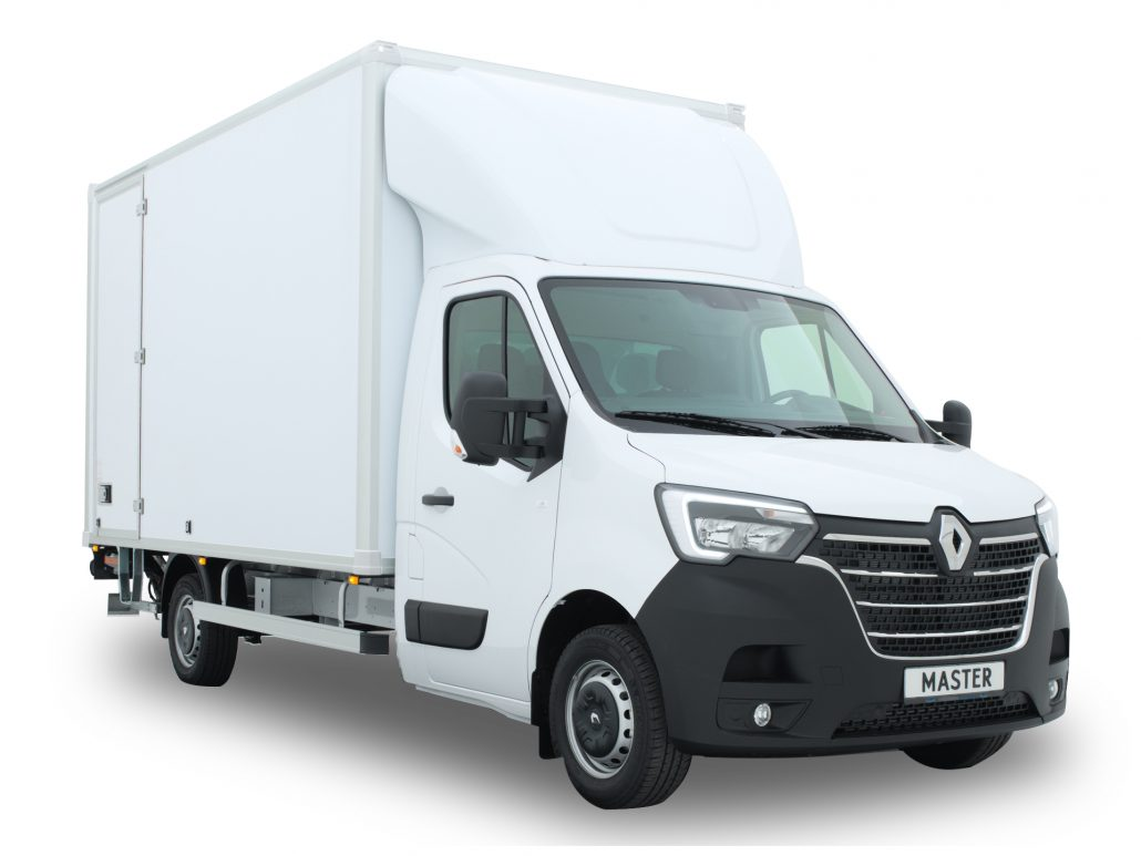 Renault Master bakwagen achteruitrijcamera