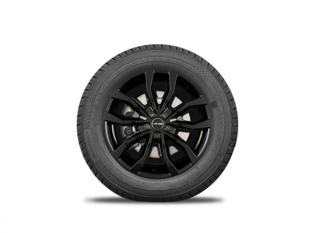 AUTEC velgen zwart Renault Trafic