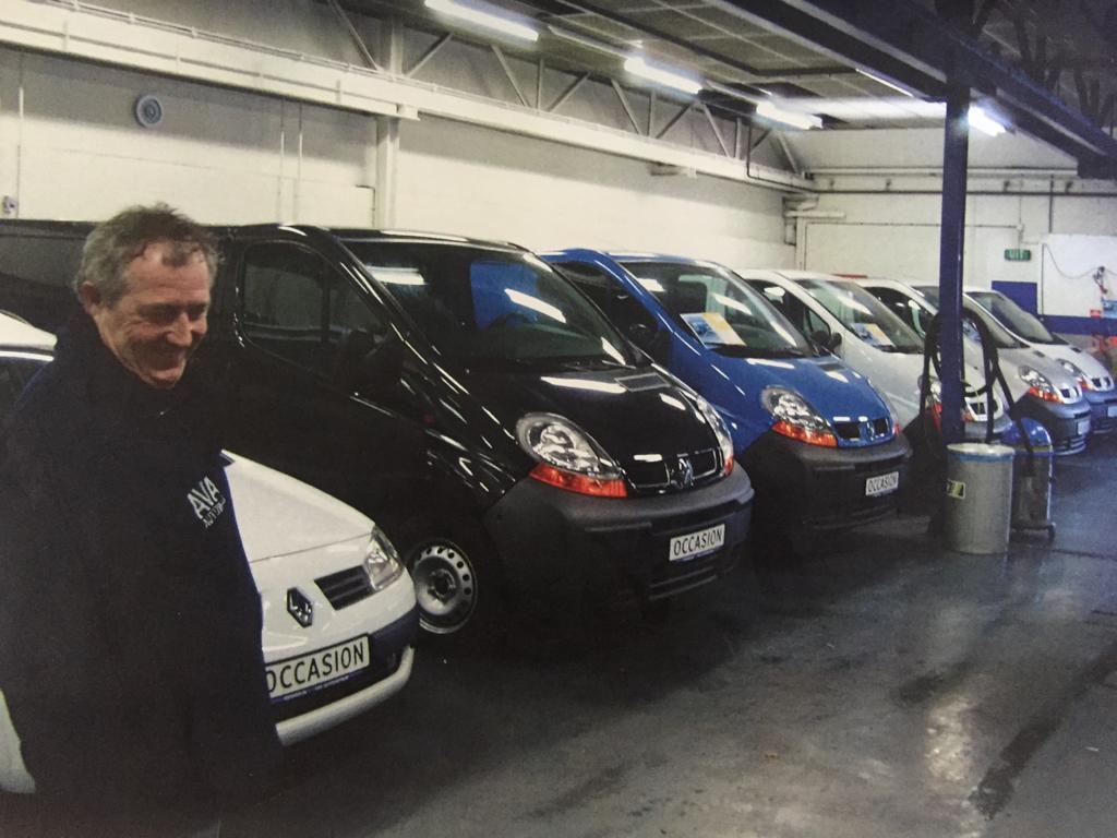 Arjan Vissinga - bedrijfswagens