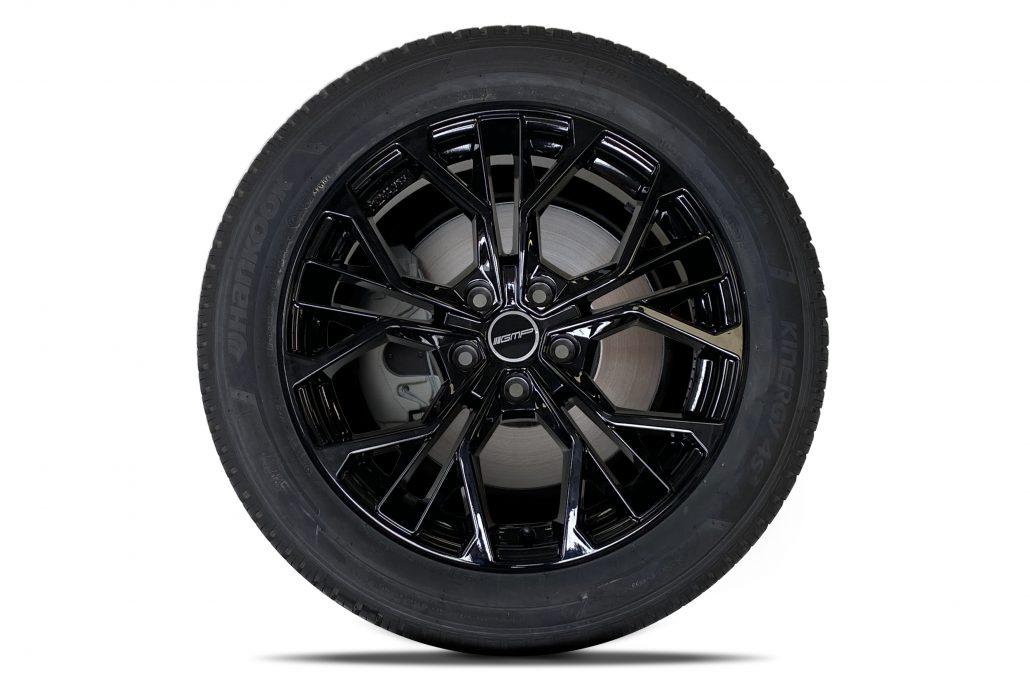 Renault Trafic velg zwart 17 inch GNP velg